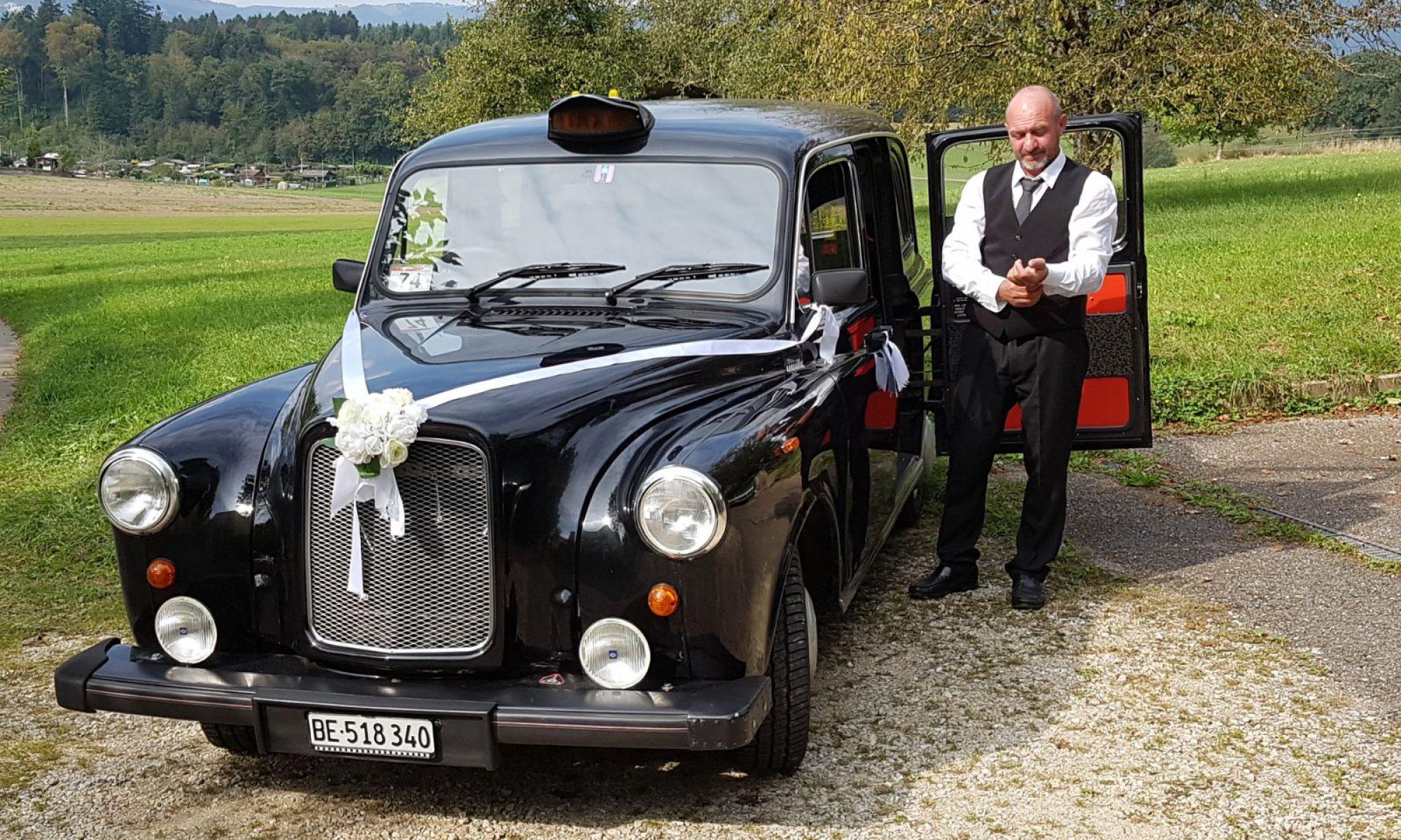 London Taxi für ihren Spezial Anlass